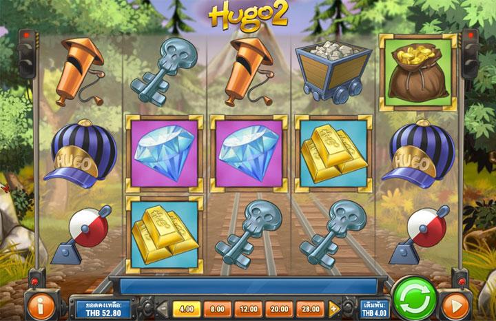 จอเกมสล็อต Hugo 2