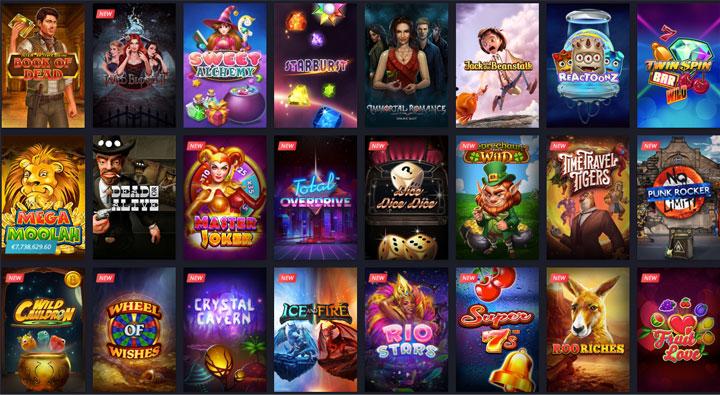 ตัวอย่างเกมส์สล็อตออนไลน์