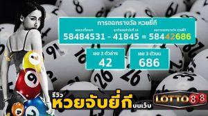 รีวิว การเล่นพนัน หวยจับยี่กี บนเว็บของ lotto88