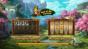 รีวิวเกมสล็อต God of Wu Fortune