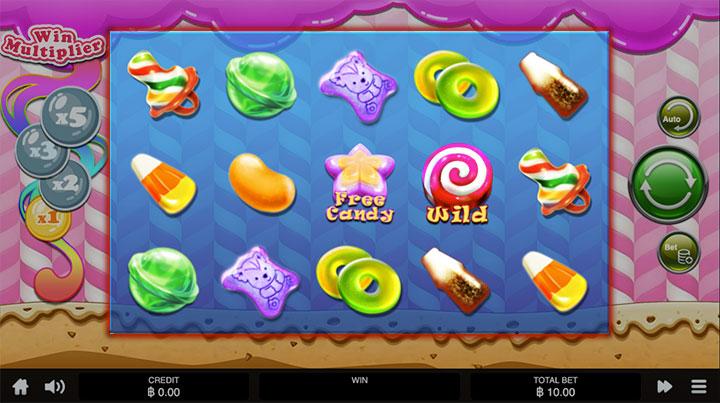 ตัวอย่างเกม Candy Quest